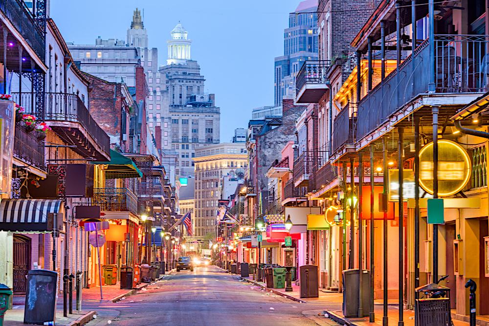 Bourbon Street New Orleans travelwishlist