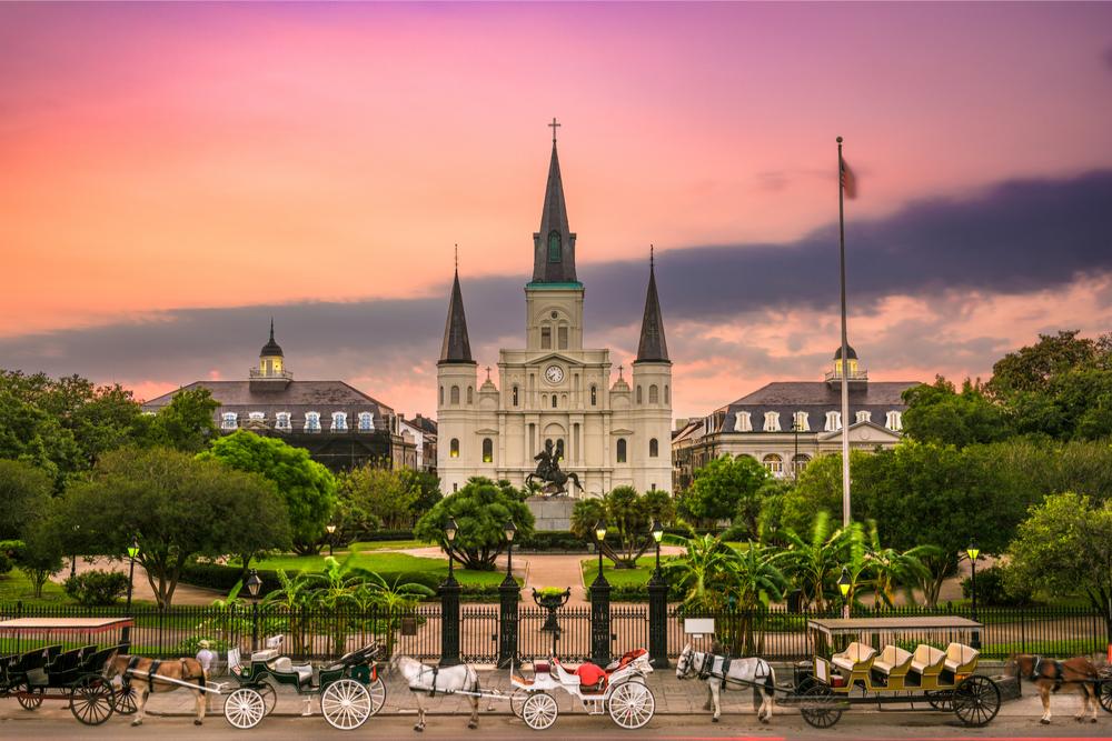 Jackson Square New Orleans travelwishlist