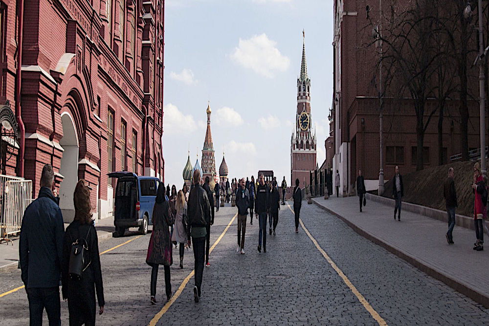 Walks with folks, Moscow