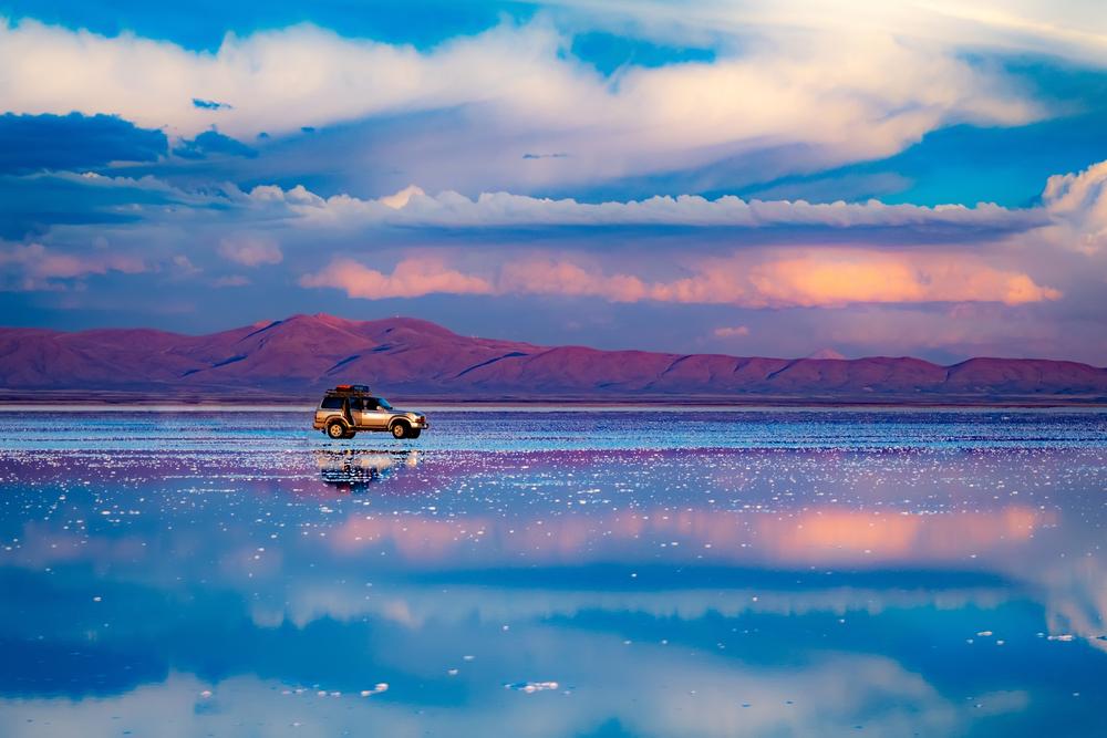 Uyuni Salt Flats, Bolivia, twisht