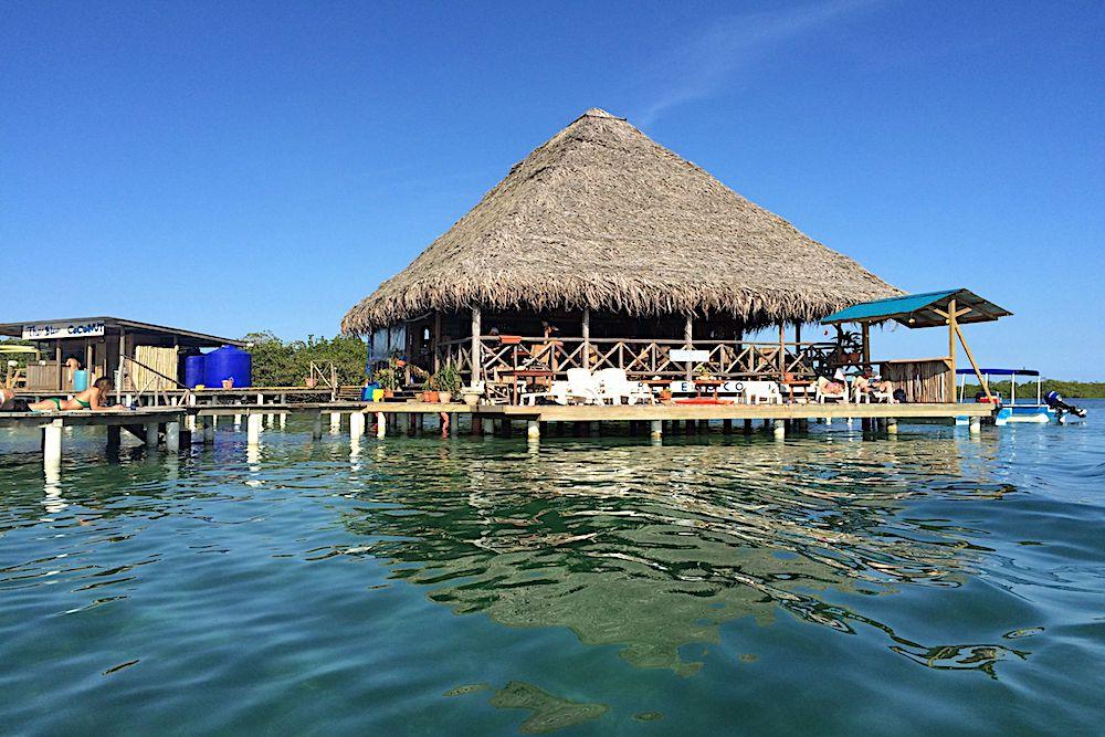 The Blue Coconut Restaurant, Panama