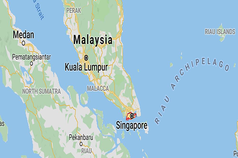 Singapore Map twisht