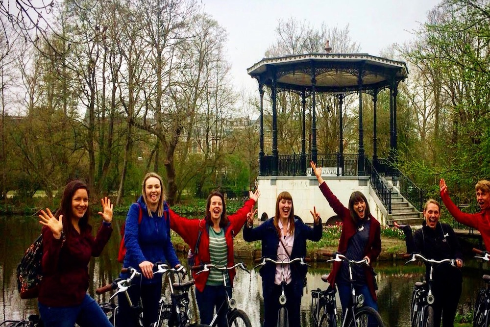 We Bike Amsterdam twisht