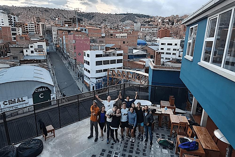 Adventure Brew Hostel, La Paz, Bolivia