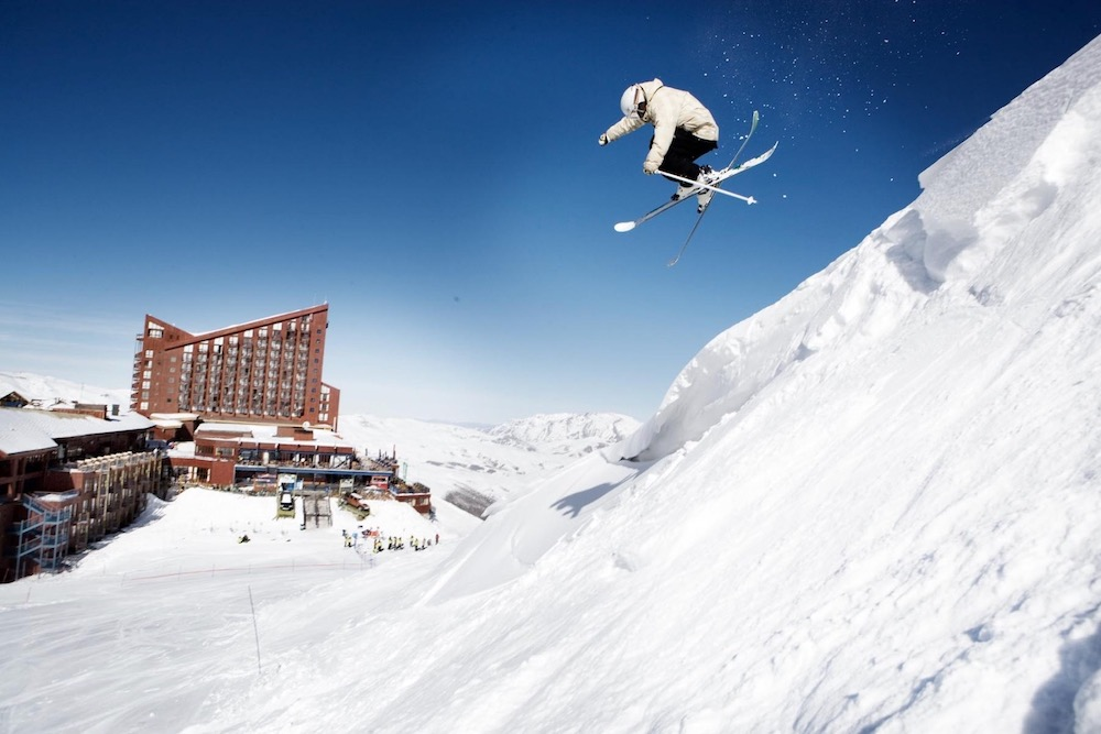 Valle Nevado Ski Resort twisht