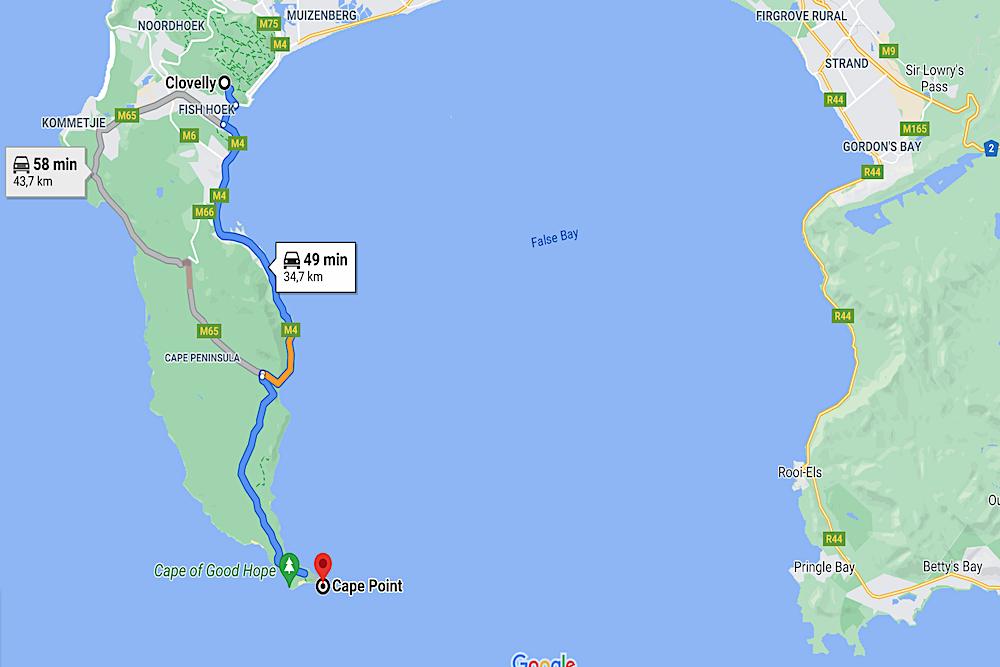 Deep South map travelwishlist