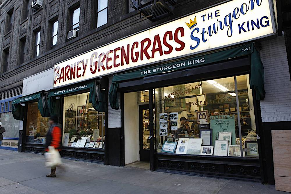 Barney Greengrass, New York