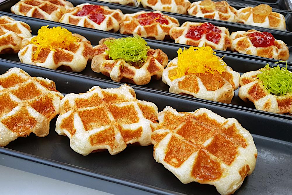 Waffles, Bangkok, Thailand
