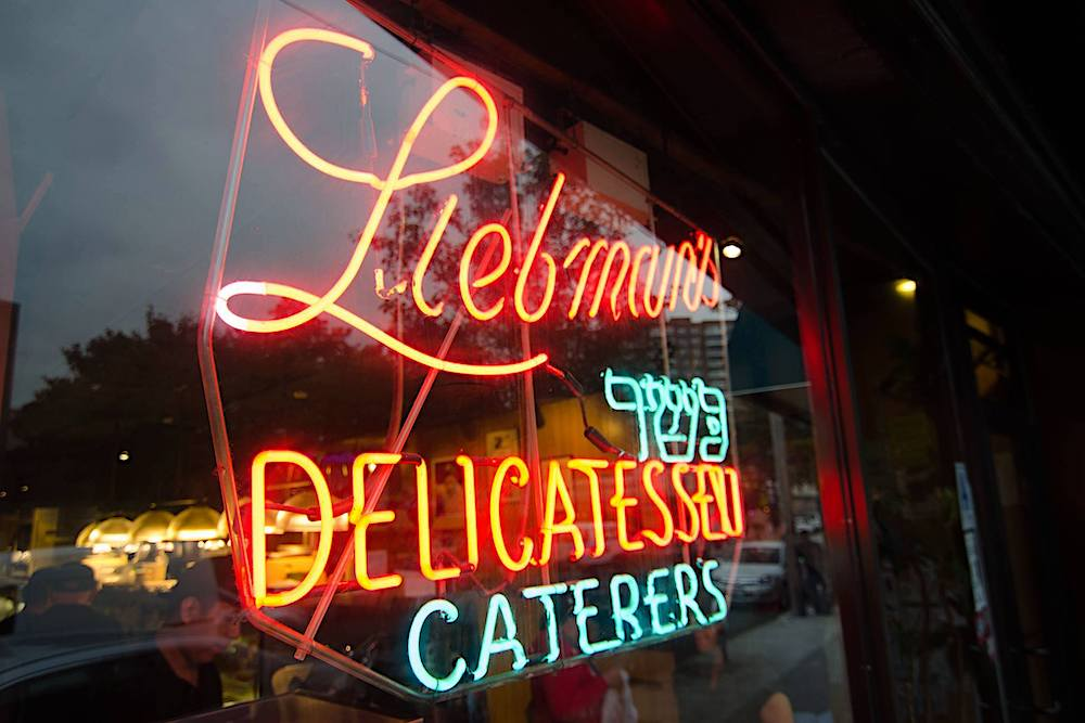 Liebman's deli, New York