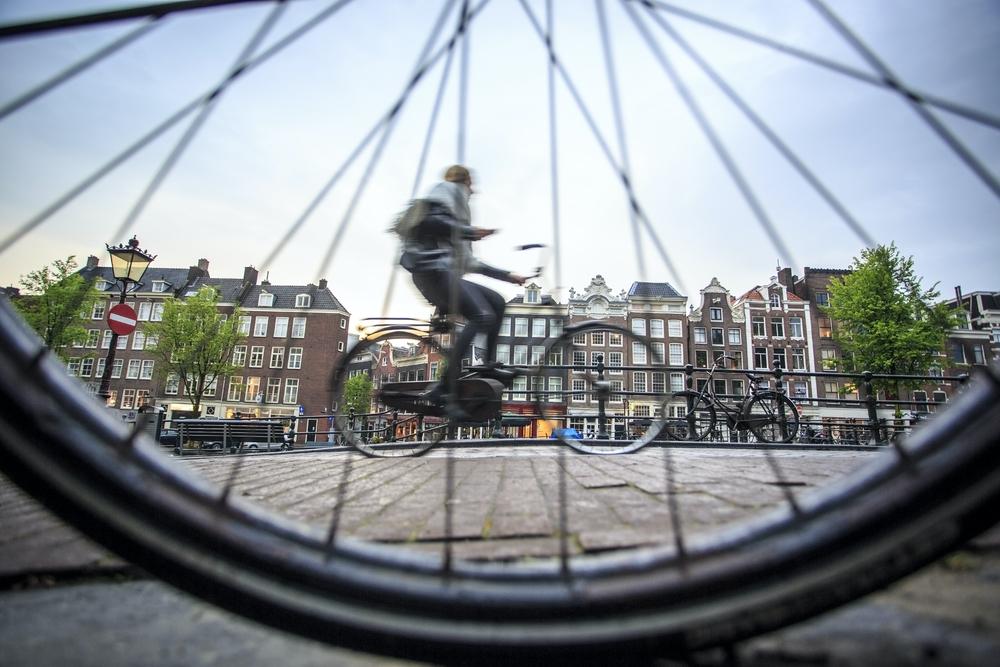 Amsterdam bicycle twisht
