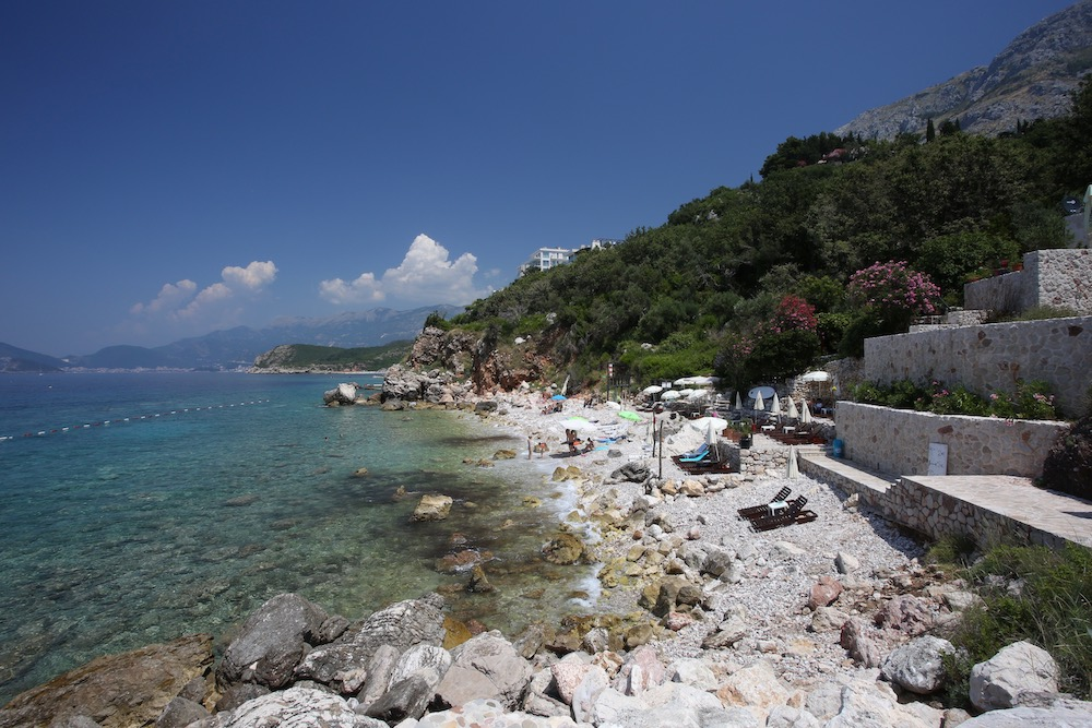Budva Riviera beach