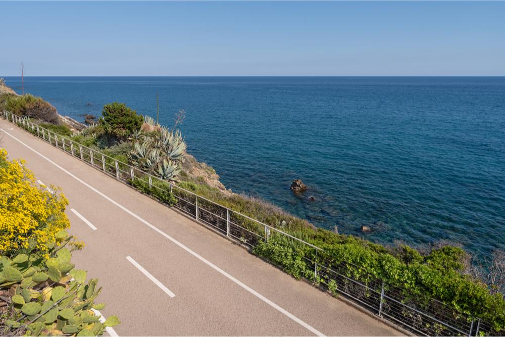 Riviera dei Fiori Cycle Path, Italy