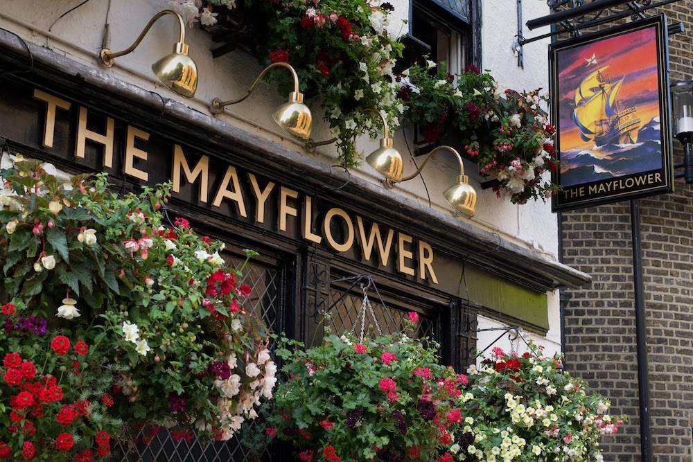 The Mayflower, London