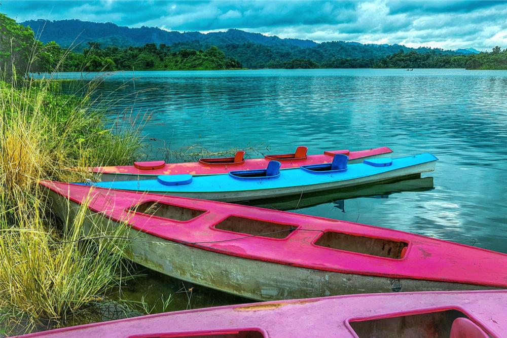 Kaptai Lake Blog twisht