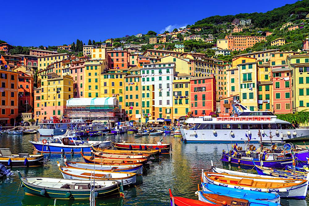 Camogli, Liguria, Italy, travelwishlist