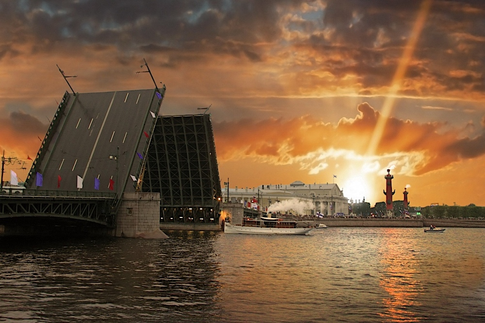 St Petersburg Welcomes