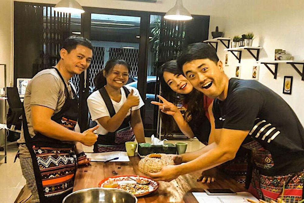 Pink Chili Thai Cooking Class, Bangkok