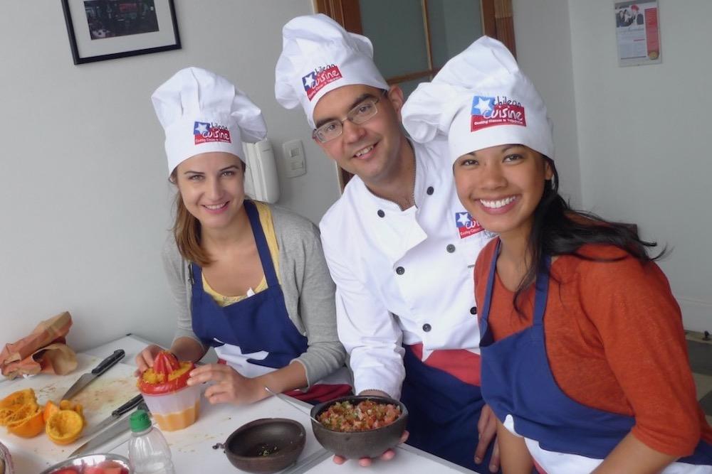 Chilean Cuisine Cooking Class twisht