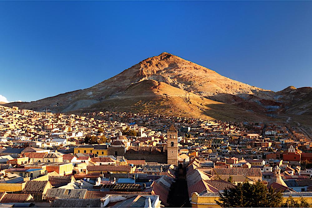 Potosi, Bolivia, twisht