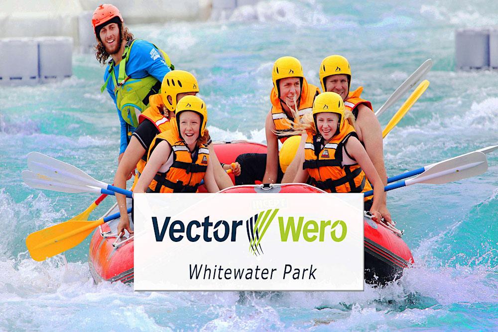 Vector Wero Whitewater Park, Auckland