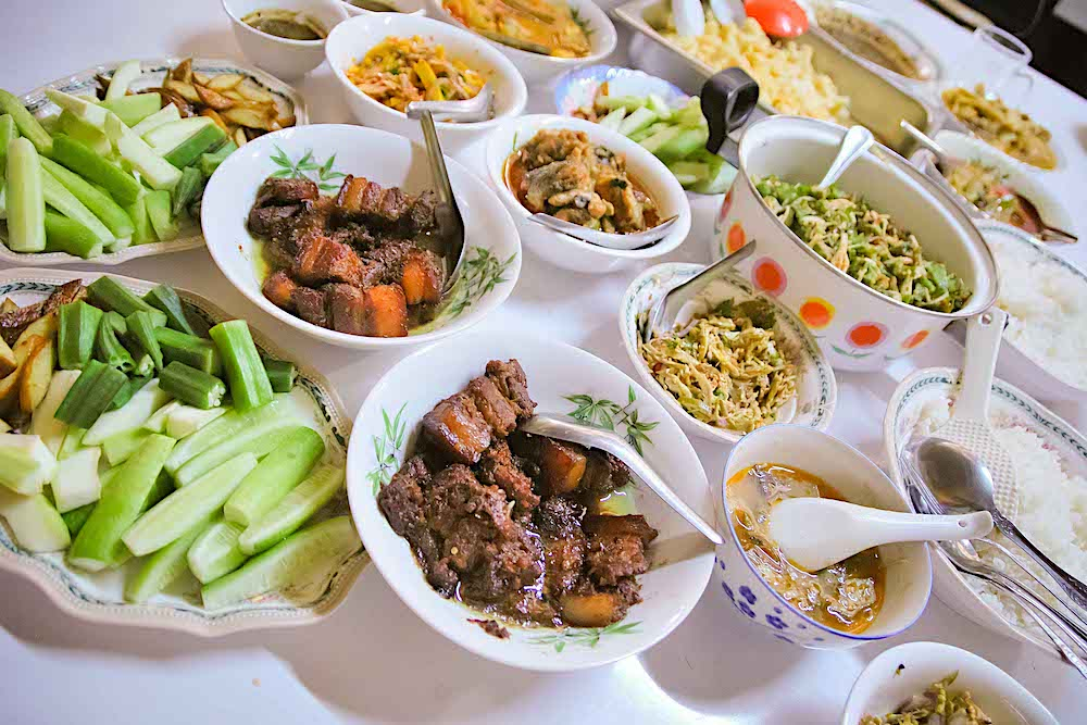 Myanmar food  twisht