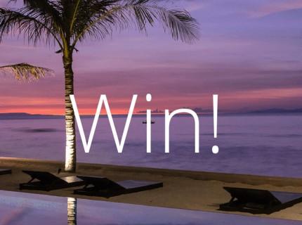 Win a luxury getaway in Lombok, Indonesia!