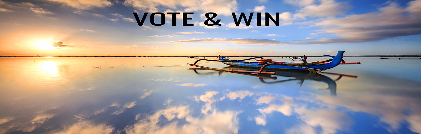 Vote and win a luxury 11 day getaway in Bali & Lombok !