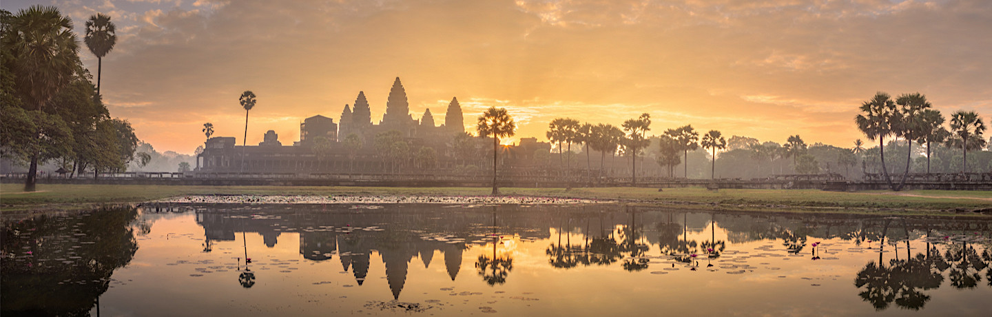 Experience the magnificent Angkor region of Cambodia
