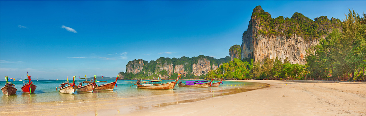 Experience 6 breathtaking beaches in Thailand