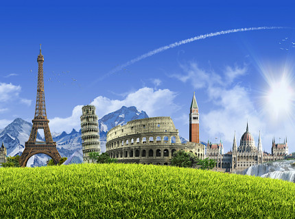 Explore 14 countries in enchanting Europe