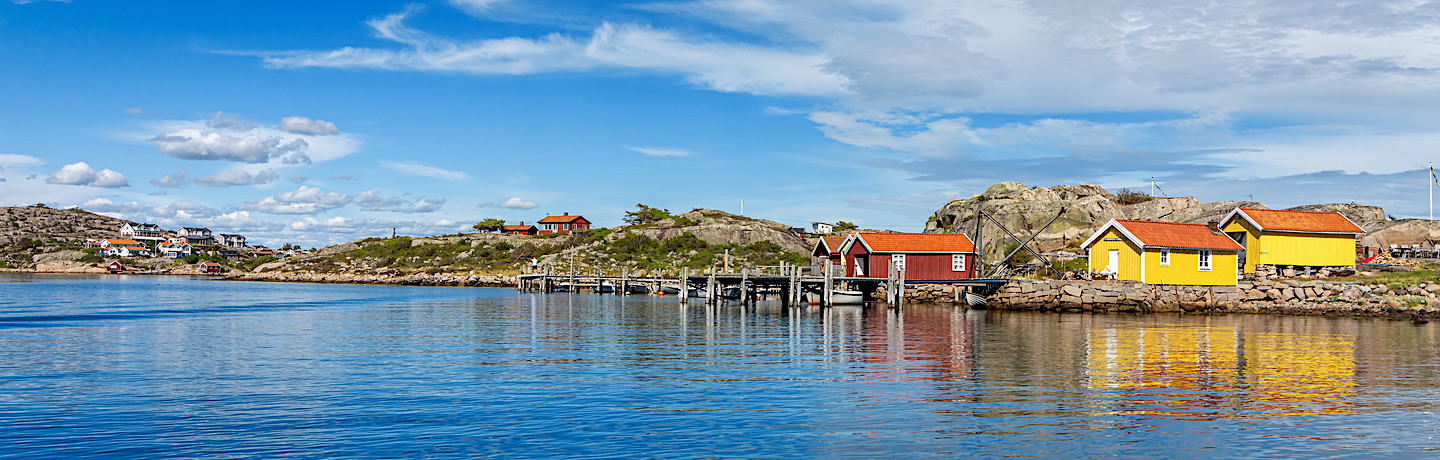 Experience the coast from Gothenburg to Oslo