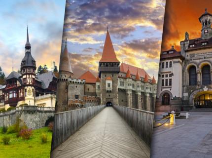 Explore the capital of Romania, Bucharest, and Transylvania